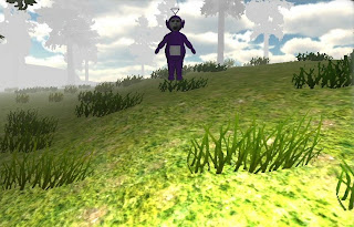 SlendyTubbies free indie horror PC game