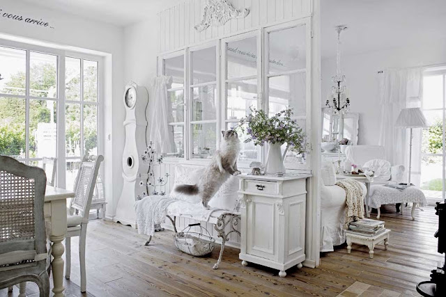 Shabby and charme in baviera una stupenda casa in stile shabby chic for Casa stile shabby chic