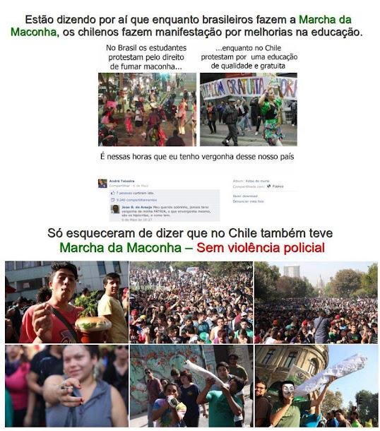 Marcha da Maconha no Chile