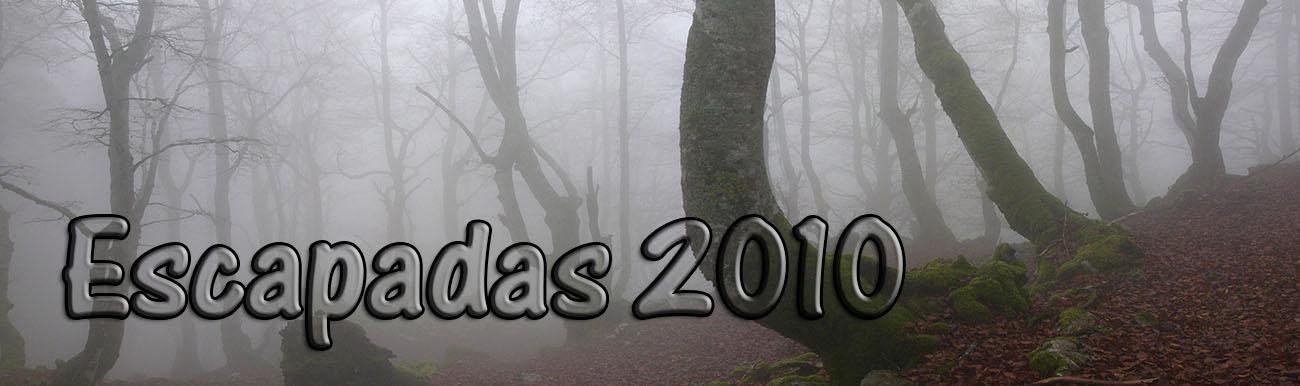 Escapadas 2010