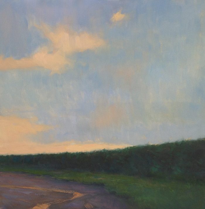 Dusk Falling    24 x 24 inches | oil on canvas | Steve Allrich
