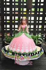 .: Barbie Doll Cake :.
