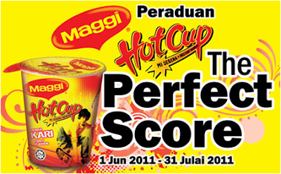 Peraduan Maggi Hot Cup 'The Perfect Score'