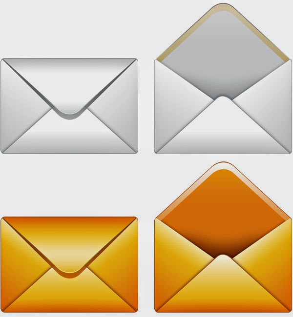 Email PSD Icon