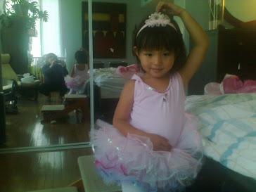 Mimi ma danseuse de ballet
