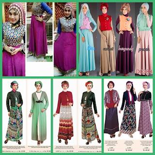 3 tips memilih baju gamis muslim gaya masa kini