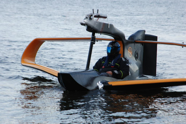 FlyNano - Fully-Electric Vehicle that Drives, Floats and Flies