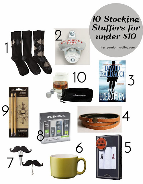 men 39 s stocking stuffers under 10 a giveaway from the cream to my coffee. Black Bedroom Furniture Sets. Home Design Ideas
