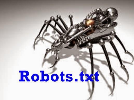 cara setting robots.txt untuk blogspot