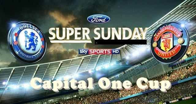 Live Streaming Chelsea VS Manchester United 1 November 2012