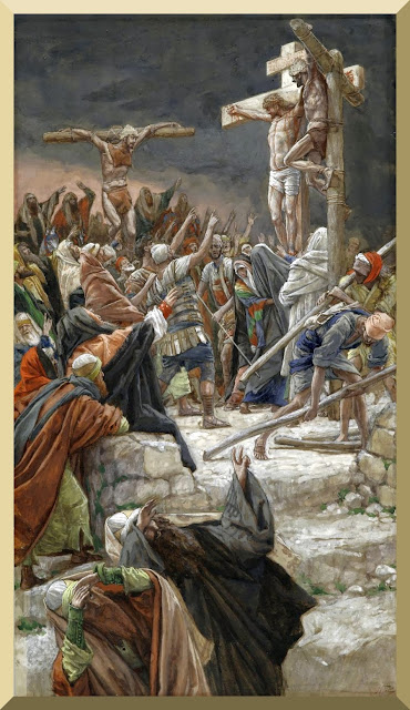 """The Pardon of the Good Thief"" -- by James Tissot"
