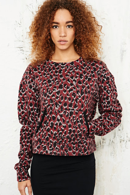 urban outfitters leopard top