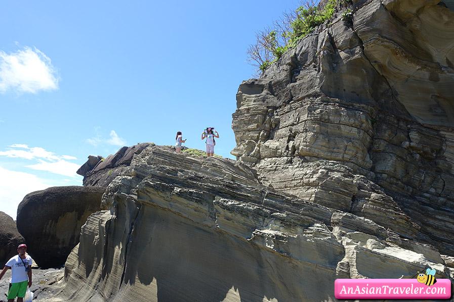 biri island rock formations