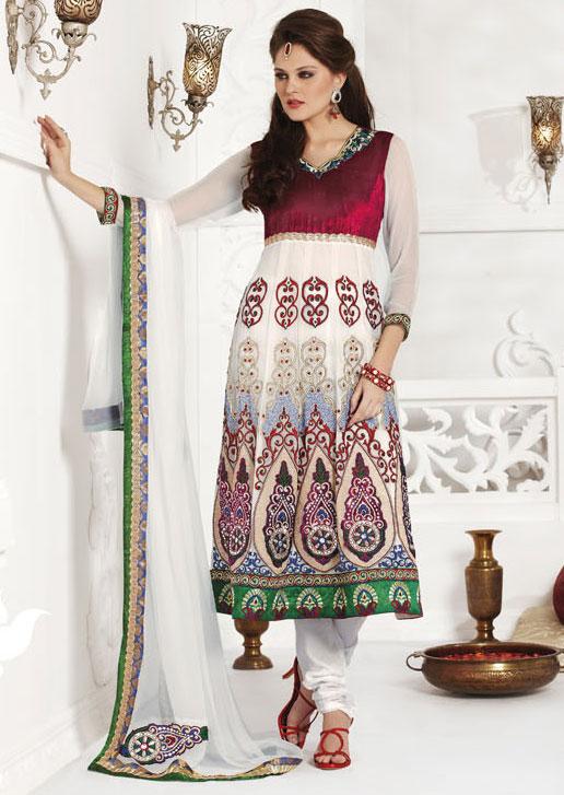 Elegance of living fancy salwar kameez for How to design salwar kameez at home