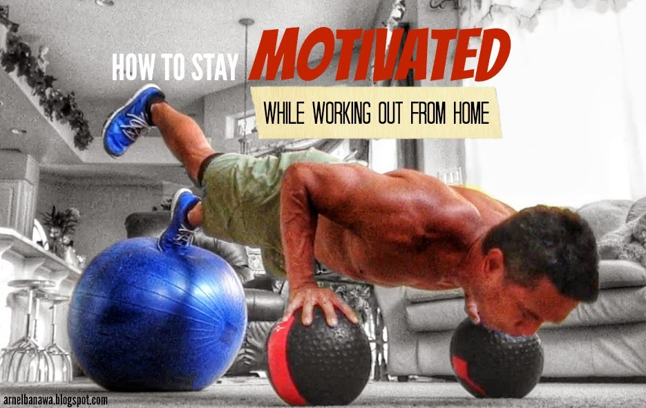 How to Stay Motivated While Working Out from Home - P90X Motivation