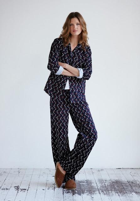patterned pyjamas