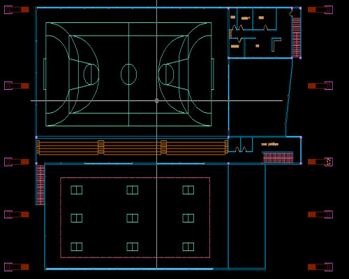 salle de sport autocad free autocad projects free dwg