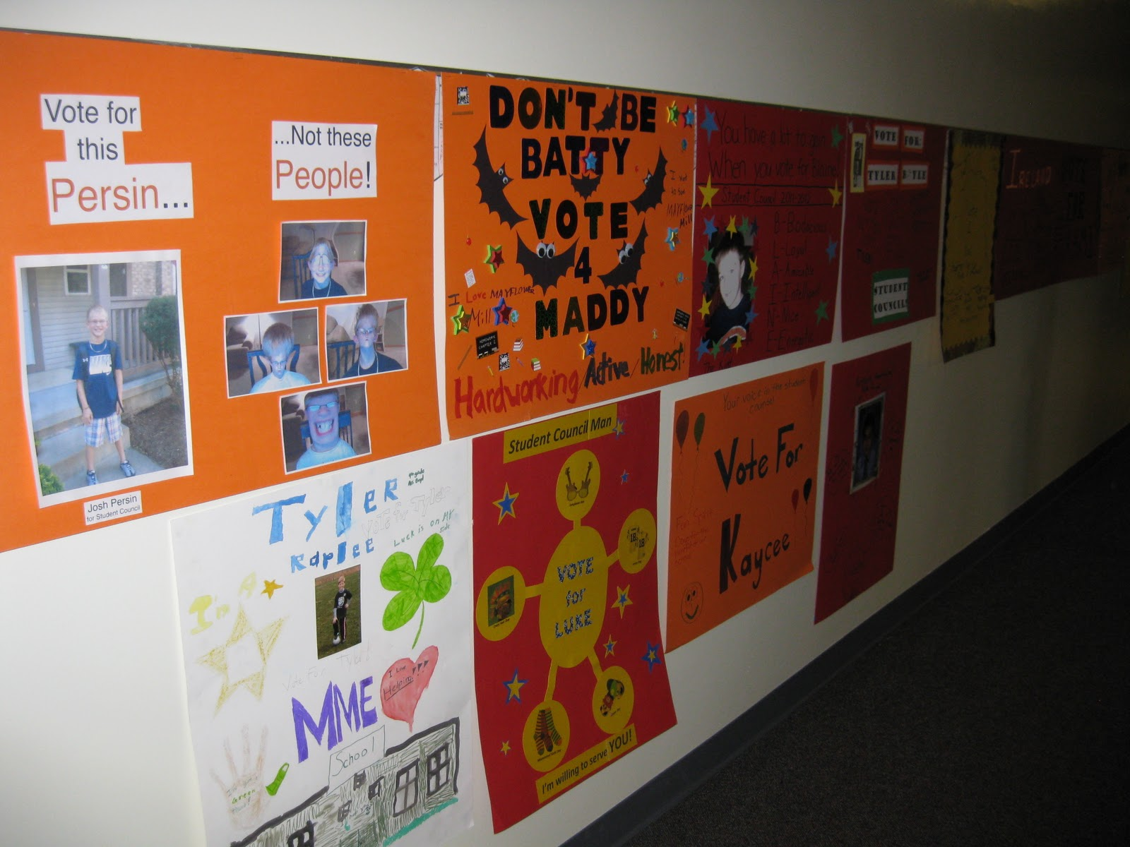 Elementary School Campaign Poster Ideas High School Campaign Ideas