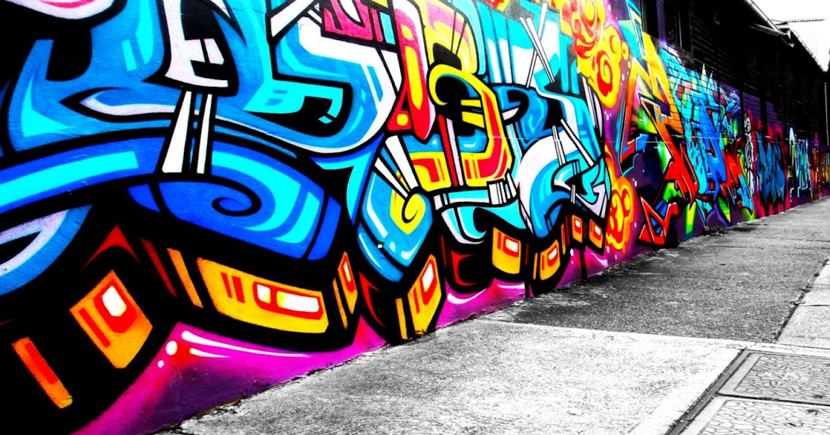 Cool Art Wallpaper Graffiti Wall | Image Wallpaper Collections