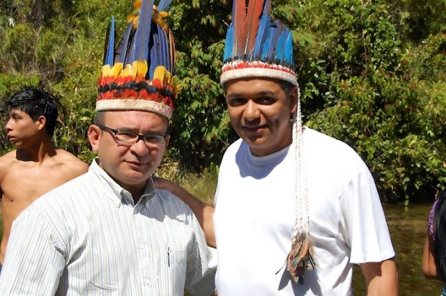 Dorjival Silva faz homenagem às nações indígenas na véspera do dia do Índio