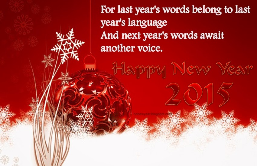 Lovely Happy New Year 2015 Wishes Quotes