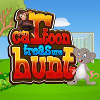 Juegos de Escape Cartoon Treasure Hunt
