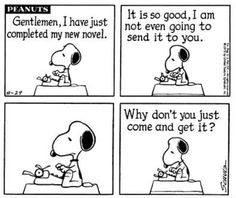 a little author humor