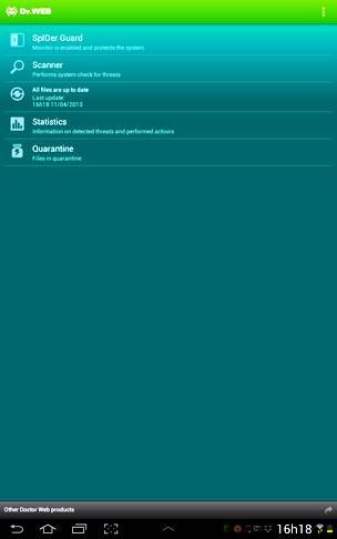 Dr. Web para Android