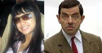 Rowan Atkinson&Dewi Persik