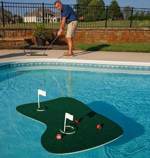 İlginç Tasarımlar - Yüzen Golf Sahası