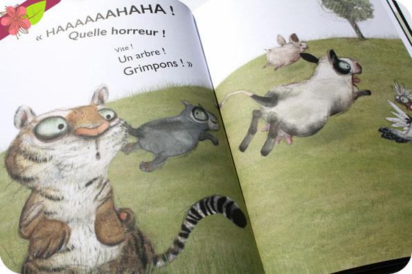 Un drôle de visiteur d'Eléonore Thuillier et Clotilde Goubely - éditions frimoüsse