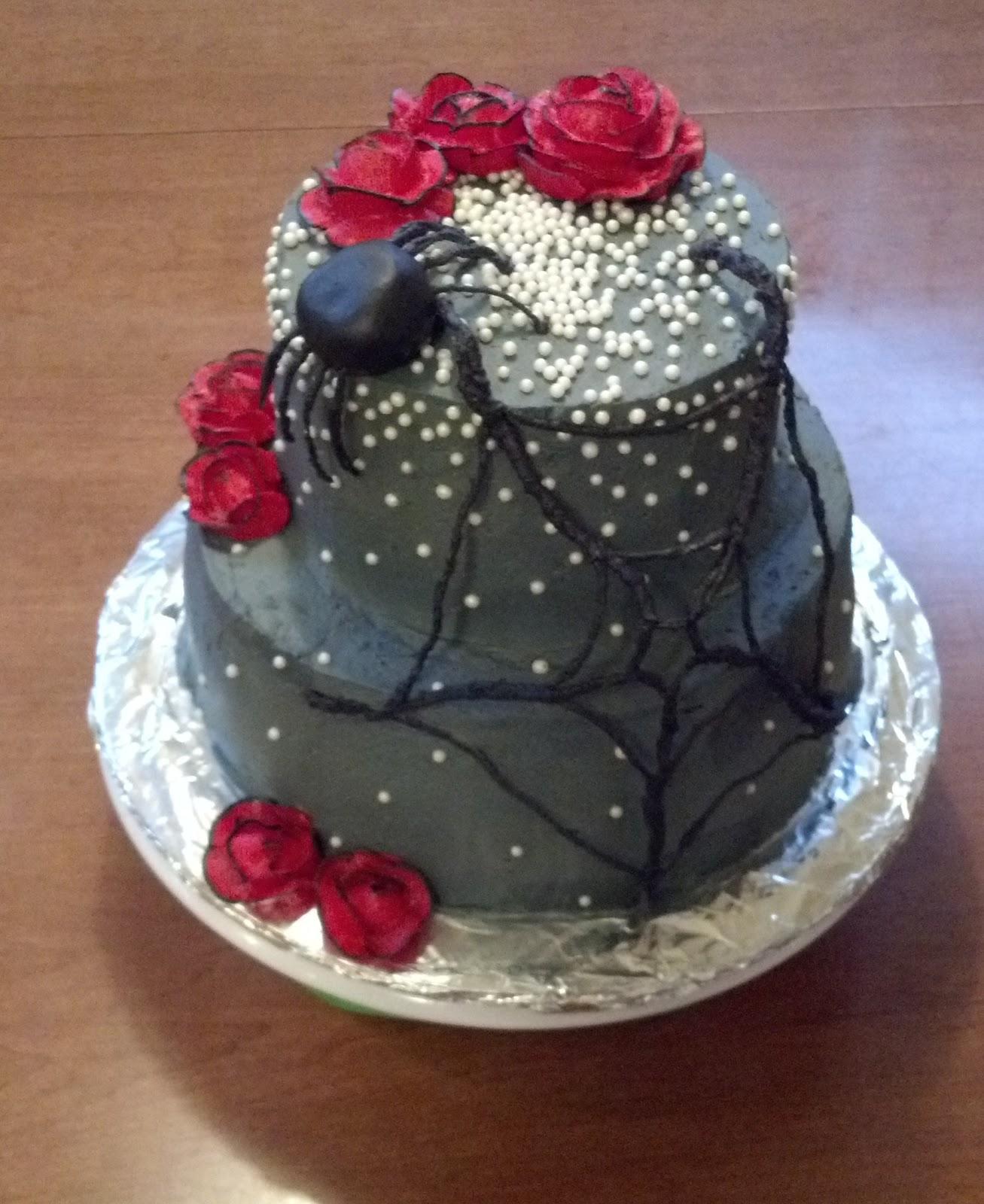 Halloween 16th Birthday Cake
