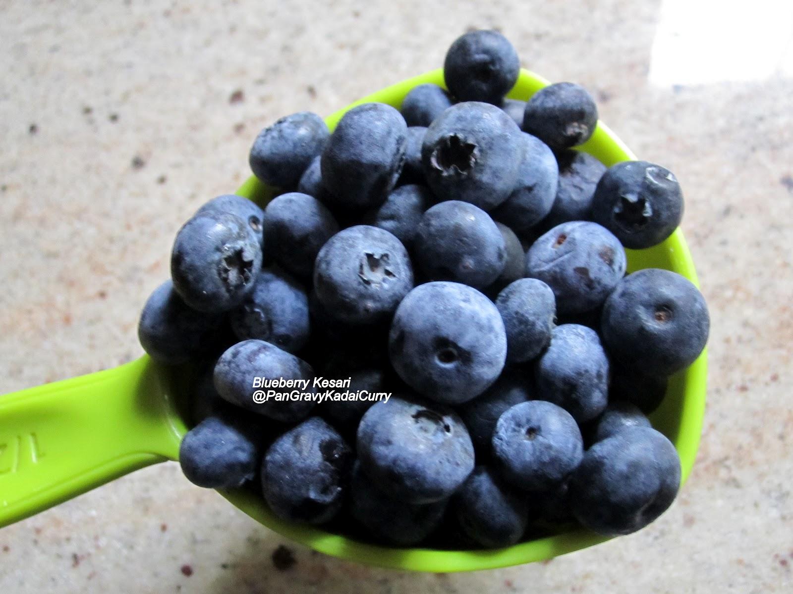 Blueberry Fruit Pan Gravy Kadai...