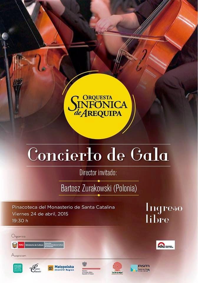 Concierto de la Orquesta Sinfonica de Arequipa - 08 de Mayo