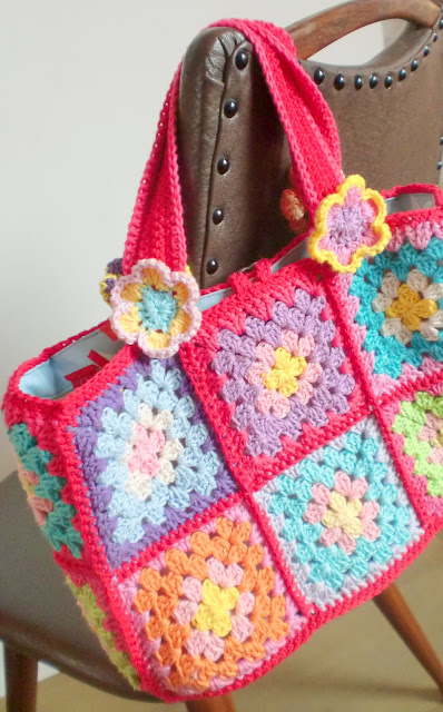 Granny Square Tote Bag : ... Granny Squares, Squares Bags, Granny Square Bag, Cute Ideas, Tote Bags
