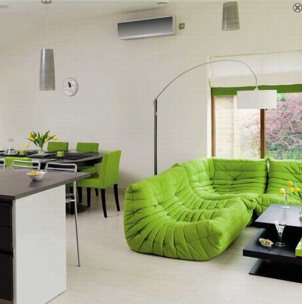decoracao de sala verde: de árvores e é capaz de relaxar acalmar e criar pensamentos