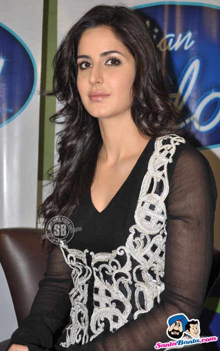 Katrina Kaif - Salman Katrina Kaif on the Sets of Indian Idol to Promote ETT