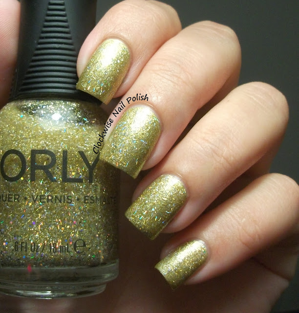 The Clockwise Nail Polish: Orly Lavish Bash