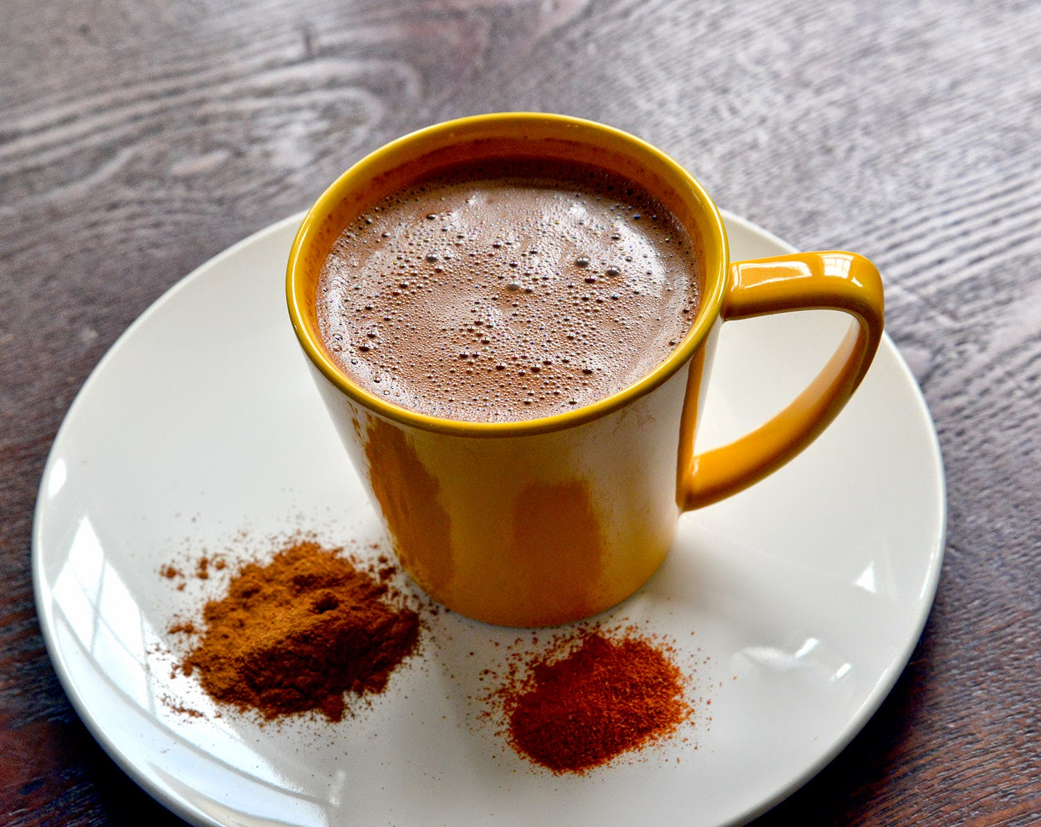 Spicy Aztec Hot Chocolate With Chili, Cinnamon, And Mezcal Recipes ...