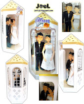 Wedding Couple papertoys