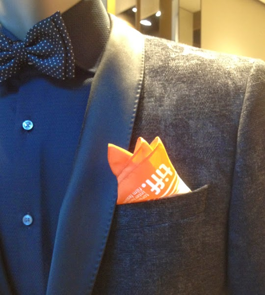 Hugo Boss TIFF Pocket Square
