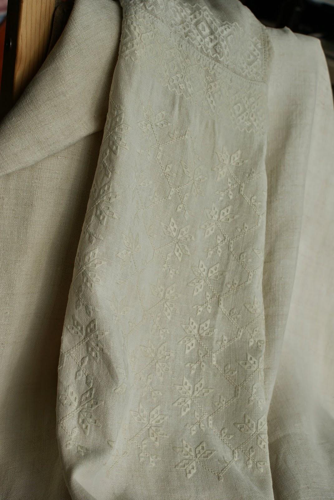 з життя котів  )  Зі скрині. Українська жіноча вишита сорочка. Крій. 208352717e1cc
