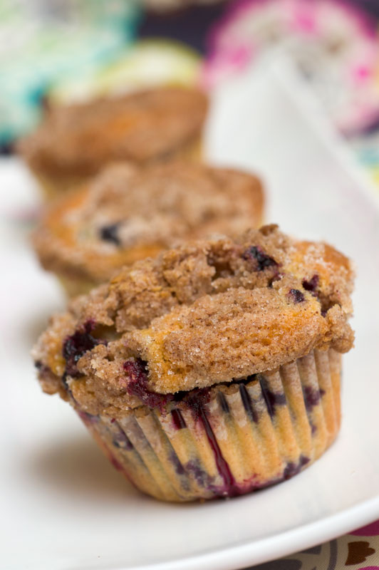 Sugar & Spice by Celeste: To Die For Blueberry Muffins