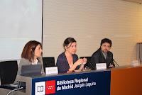 María Jaudenes; Isabel Moyano; Juan Miguel Sánchez Vigil