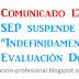 """Suspende SEP """"indefinidamente"""" la Evaluación Docente"""