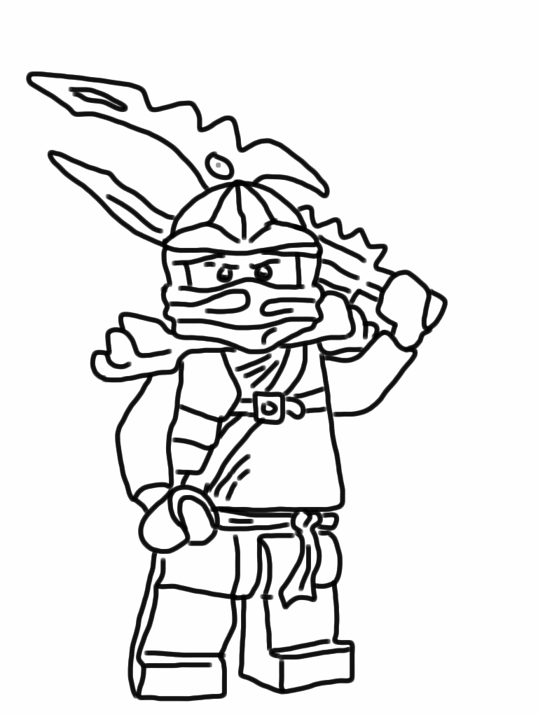 jay ninjago printable coloring pages - photo#11