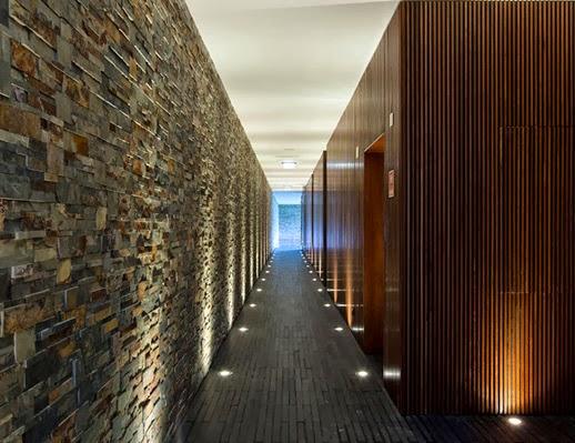 Casas minimalistas y modernas pasillos en casas modernas - Pasillos modernos ...