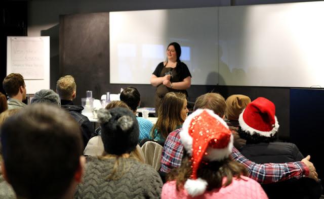 Vegansk Julefestival 2015 Vegetarbloggen Mari Hult Nøttestek Kokkekurs