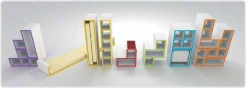 furniture design:Tetris Furniture