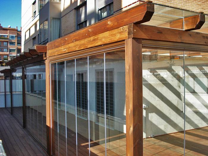 Cerramientos en madera carpintero en almer a for Cerramientos de interiores